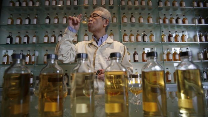 Japanese whiskey consumption in the US